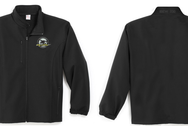 IBEW 230 Soft Shell Spring Jacket