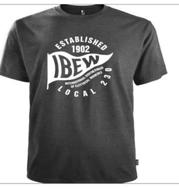 04ab1d6b0 IBEW Local 230 T-Shirt – $15